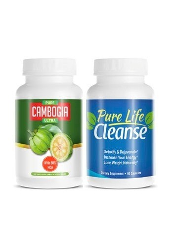 Biotrim Pure Cambogia Ultra y Pure Life Cleanse