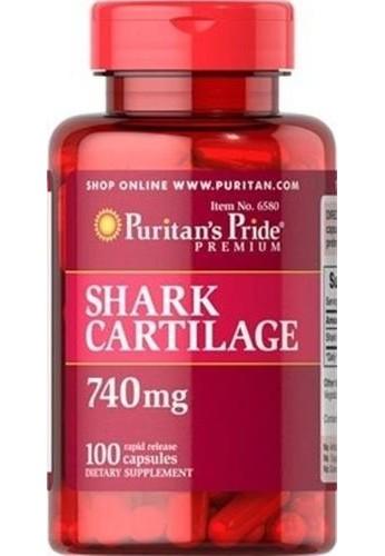 Cartílago de tiburón, 740 mg