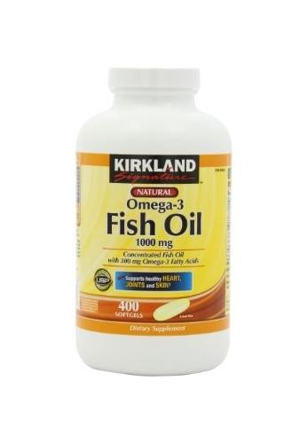 Kirkland Signature ™ Omega 3 1000 mg. 400 Cápsulas