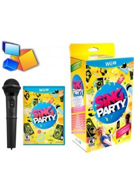 Wii U Sing Party Con Microfono Nuevo Y Sellado