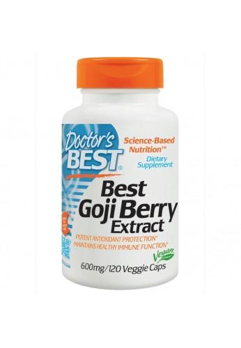 Pastillas Goji Doctor's Best, Goji Berry Extract