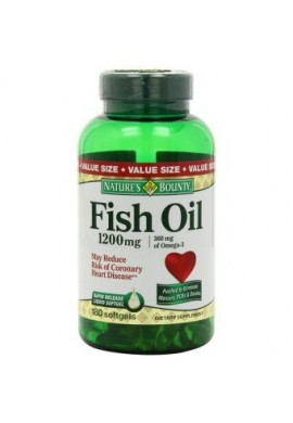 Omega 3 Fish Oil 1200mg 180 Capsulas Importado Usa