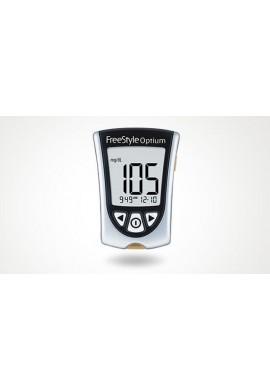 Glucometro Freestyle Optium Abbott Glucosa Diabetes Azucar
