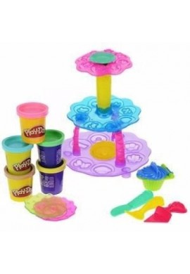 Play Doh Cupcake Celebracion Masa Moldear Pastelitos B1855