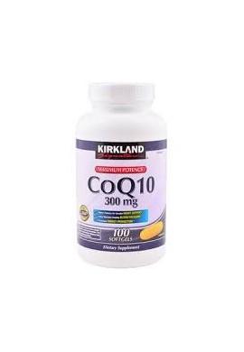 Coq10 300 Mg Maximum Potency 100 Softgels