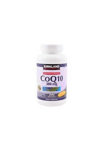 Coq10 300 Mg Maximum Potency 100 Softgels