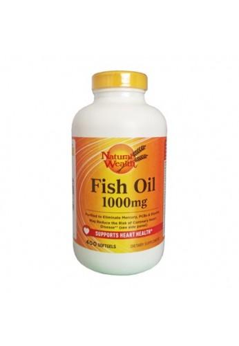Aceite de Pescado 1.000 mg Omega 3 400 softgels