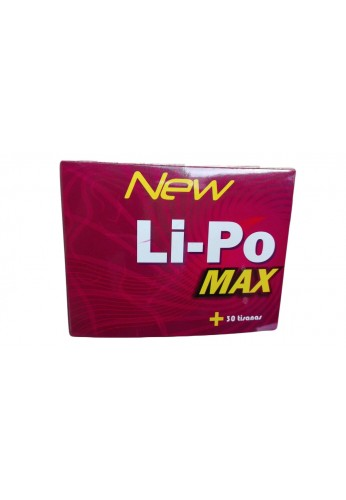 Kit Completo New Li-Po Max +30 Tisanas