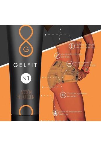 GELFIT, GEL reductora, re afirmante, elimina celulitis