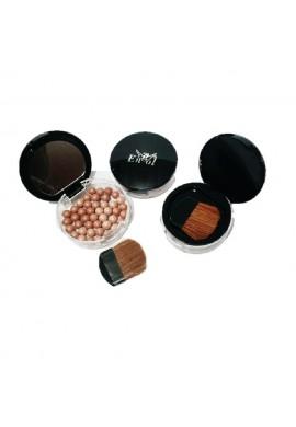 Rubor En Perlas Maquillaje Para Mujer Con Brocha Aplacadora