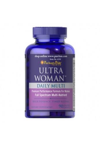 Ultra Woman Daily Multi Multi - Vitaminico 90 Coated Caplets