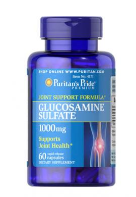 Puritans Pride Glucosamine Sulfate 1000 Mg-240 Cpsulas