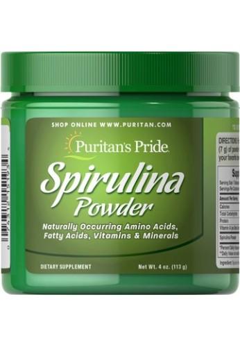 Spirulina Powder espirulina en polvo 113 Gr 4 Onzas