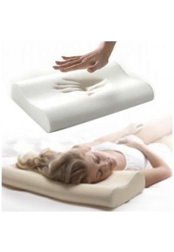 Almohada Memory Pillow Ortopédica Indeformable Con Aloe Vera