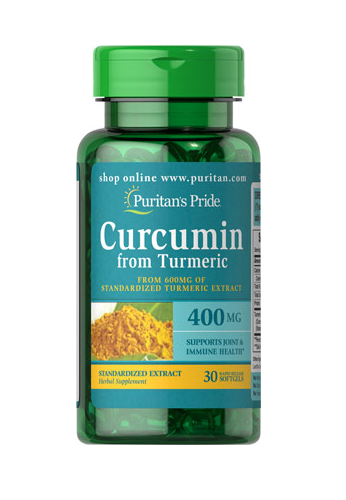 Cúrcuma 400 mg Extracto de Turmeric 600 mg