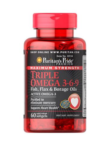 Triple Omega 3-6-9 de máxima potencia