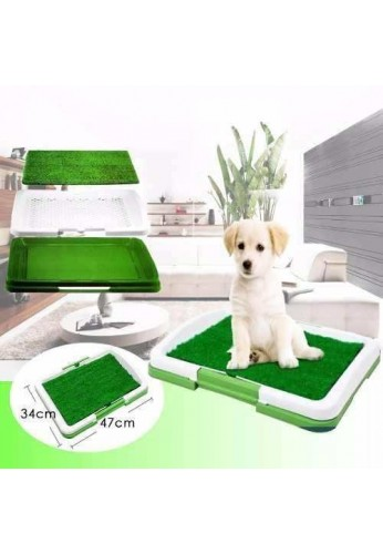 Tapete De Entrenamiento Puppy Potty Baño Pasto Ecológico