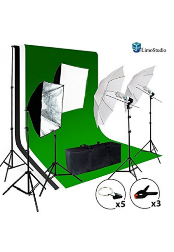 limostudio Foto Video Studio Kit de luz