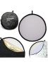 Neewer - 110 cm 5 reflectores de luz plegable 43 pulgadas Multidisco