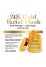 24 K Oro Máscara Facial de Majestic Pure, 8,8 oz