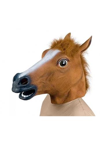 Máscara Halloween Cabeza De Animal Caballo Disfraces