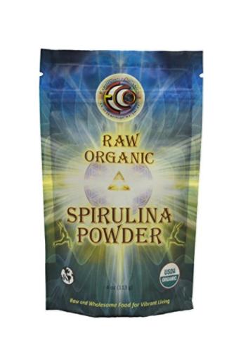 Earth Circle Organics Spirulina En Polvo, 4-Oz