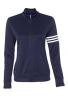 Chaqueta Adidas Mujer '3-lineas cierre de cremallera Pullover chamarra A191