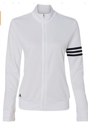a58d38831d157 Chaqueta Adidas Mujer  3-lineas cierre de cremallera Pullover chamarra A191
