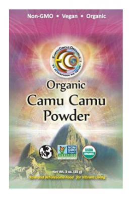 Earth Circle Organics Camu Camu En Polvo, 3 Libras