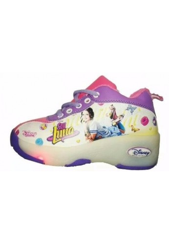 Tenis Patin Soy Luna Luces Disney 100% Originales