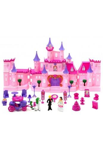 Castillo Munecas Princesas Juguete Luces Sonidos 21 Accesorios