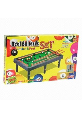 Juego juguetes mesa de billar para los niños