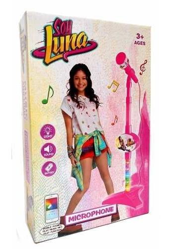 Karaoke Infantil Niñas Soy Luna Princesas IMusica y Luces Connec Phon