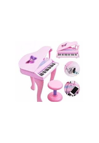 Juguete Niñas Mini Piano Juguete Musical Luces RF 88022
