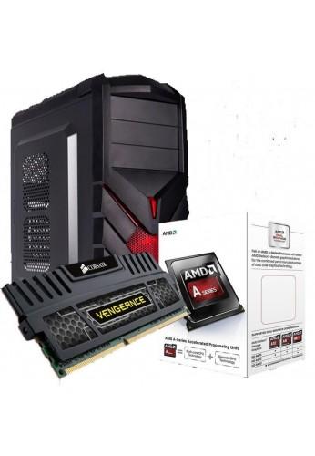 Pc Gamer Amd A4 4000 3.2 Gherz Turbo 3.0 Base Juego