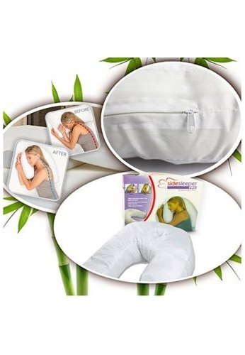 Almohada De Cuello Side Sleeper Pro anti-ronquidos !