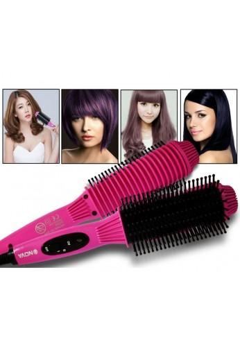 Enderezadora / rizador del cepillo del pelo de la temperatura dual de Nova NHC-8810