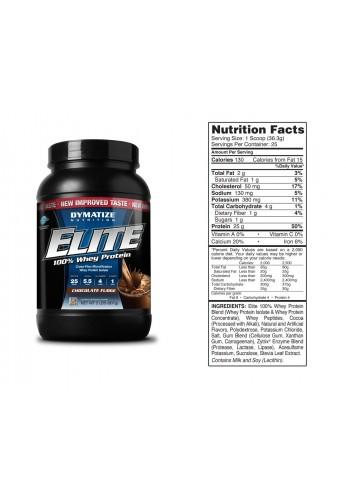 Elite 100% Whey Protein 2Lb Dymatize Nutrition