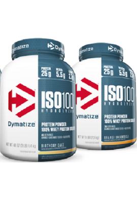 Iso 100 - 3lb- Dymatize Suero De Leche, Es Lo Máximo En Proteínas