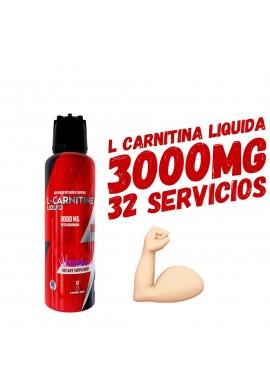 L Carnitina Liquida 3000 Mg 32 Servicios Quemador De Grasa