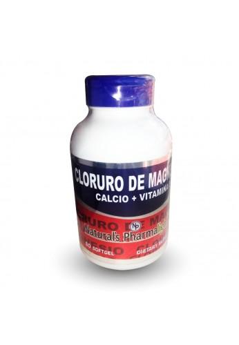Cloruro Magnesio+calcio+vitamina D Suplemento 60 Capsulas