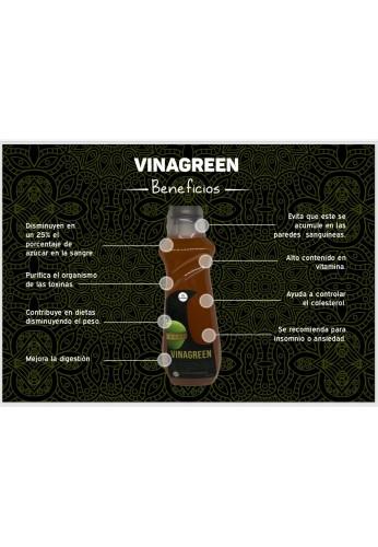 Vinagre De Manzana Organico Vinagreen
