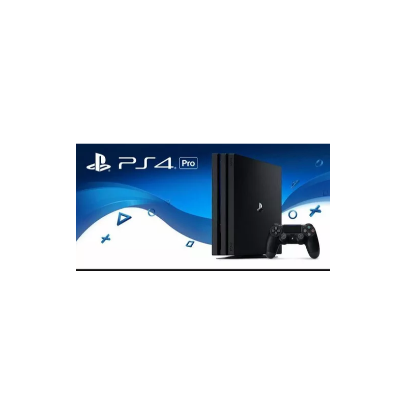 playstation 4 pro 1 tb 4k hdr sony. Black Bedroom Furniture Sets. Home Design Ideas