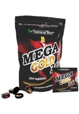 Mega Gold 36 X 200 Tabletas