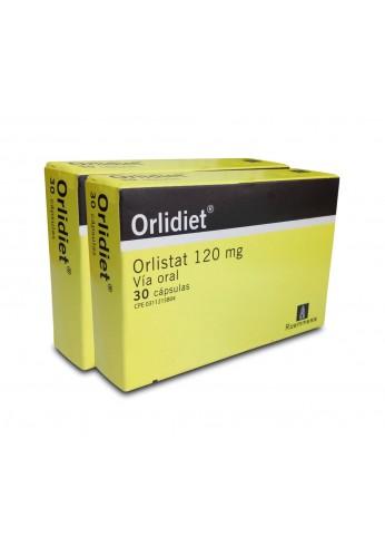 Orlidiet Orlistat 120 mg cápsulas