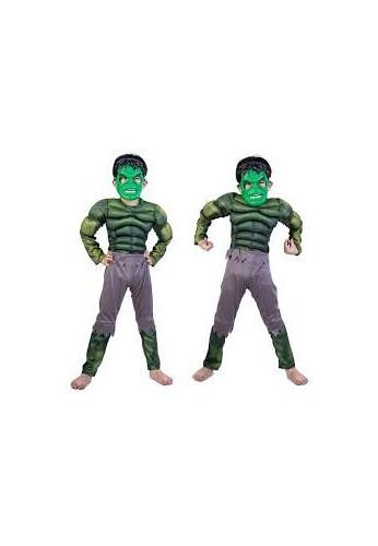 Hulk Disfraz Halloween Niño Vengadores