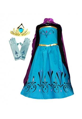 Elsa Frozen Disfraz De Princesa Del Hielo