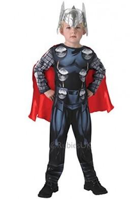 Disfraz De Thor Dios Del Trueno Para Niños -