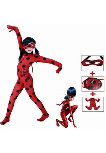 Disfraz Halloween Ladybug Para Niñas