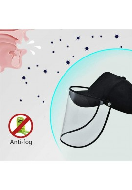 Gorra con careta de proteccion anti virica